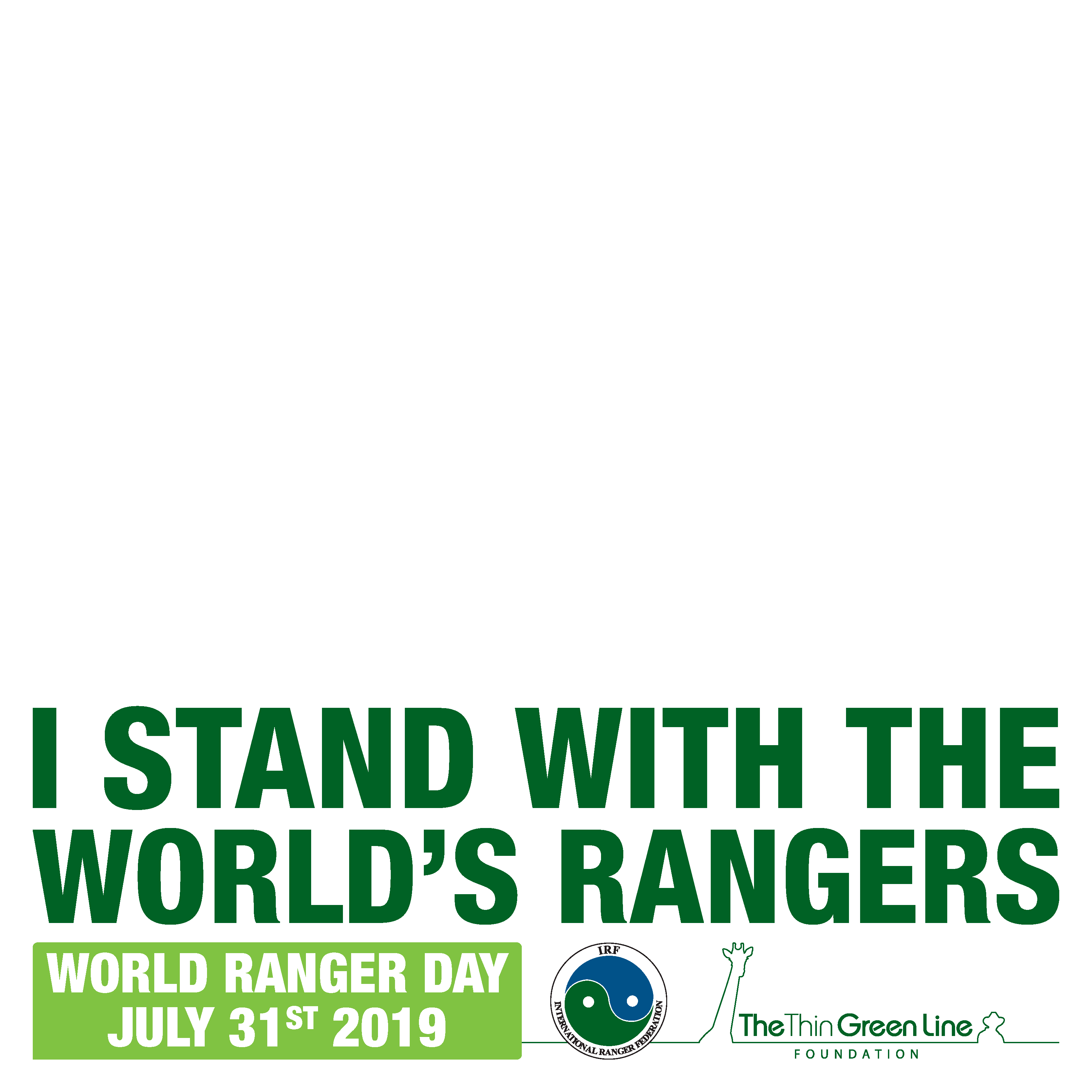 i stand with rangers frame